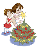 K-On AR Christmas by The-Padded-Room