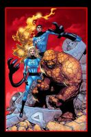 Fantastic Four Ravencolors by JoshTempleton