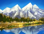 Autumn Mountain Range by sapphiresky1410