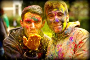 Holi in Europe by alahay