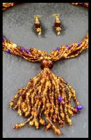 Wynni's Necklace Tassel by copper9lives