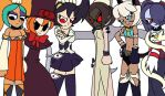 Skullgirls by Enderboy1908