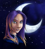 Anjali, Exalted of the Moon by evion