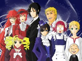 Black Butler by grivitt
