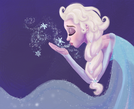 Elsa by Tinyfeather