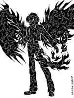 The Boy With Black Wings by LukeTheRipper