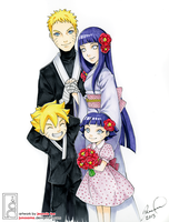 Naruto Last: Family Portrait by junosama