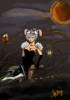 Riven Bad Bunny skin by aneliq