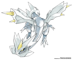Kyurem - Old Sugimori Style by Tomycase