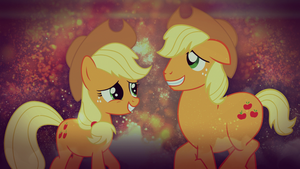 Applejack - Me, As a Stallion (Wallpaper) by AdrianImpalaMata