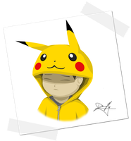 Pikachu? by watermeloons