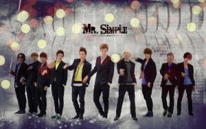 SuJu - Mr. Simple Wallpaper by xhikkux