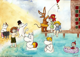 Contest - Moomin Summer by Genolover