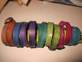 Bracelet two-times turn by akinra-workshop