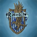 Ravenclaw house badge by Moray-orca
