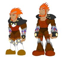 Old and New: Ganondorf by LegendaryFrog