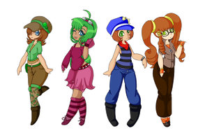 Poke-Girls by Dark-Videogamer