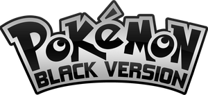 Pokemon Black Version Logo by Nalty