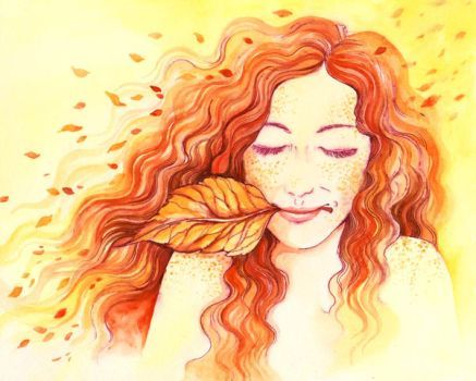 The Autumn Wind by TrollGirl