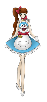 Darling Army Pinafore entry 6#: Doraemon by chi171812