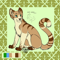 Cat adopt closed by gold-adopts