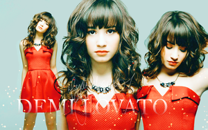 Demi Lovato WP by pointu2themirror