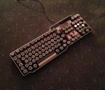 Steampunk keyboard 6 by HannaLTD