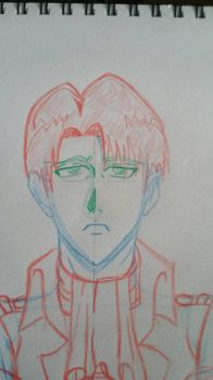 draft levi a.o.t by Zcanzer
