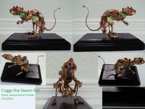 Coggs the Steam Rat by janiceghosthunter