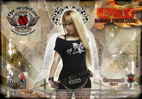 Metal Hammer Nephilim Flyer by Tanit-Isis