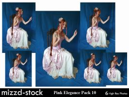 Pink Elegance Pack 10 by mizzd-stock