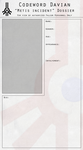 Ref Sheet Template by Bwarchtor