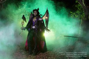 Maleficent by keruuu