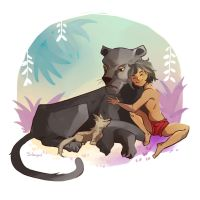 The jungle book by Silverzzz