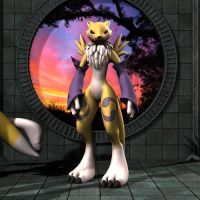 Extend3D Renamon by Lord-Crios