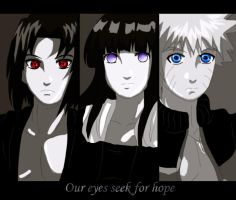 Our eyes seek hope by Nishi06