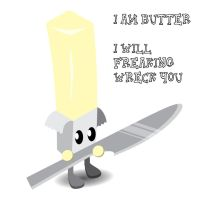 Daily Doodle Butter by Warriorpoet2006
