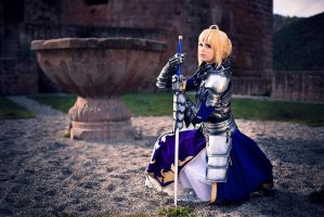 Fate/Stay Night - Saber 'Gift Version' V by Calssara