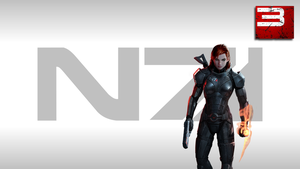 Jane Shepard Wallpaper by Strayker