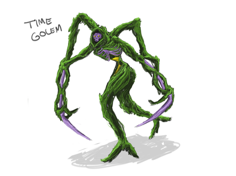 Time Golem by NinjaPigProductions