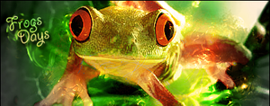 Frogs Days Signature by N-I-G-H-T-O