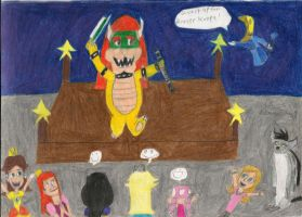 Bowser Performs by daisyplayer1