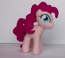 Filly Pinkie pie plush by CosmicCrafts