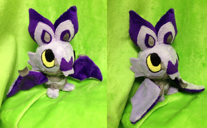 Noibat Palm Plush by Glacdeas