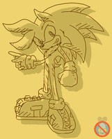 Otto Sonic Channel style by shadowhatesomochao