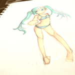 Miku by SkyFlameLitMoon23