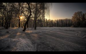 Winter scenery... 7 by PawelJG