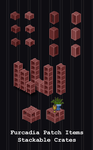 Furcadia Items - Stackable Crates by PointyHat
