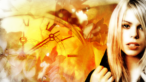 Billie Piper Autumn wallpaper by Carly23