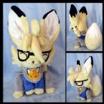 OC Lee Plushie :Commission: by AppleDew